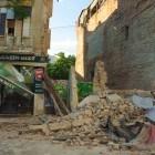 Cum s-au dărâmat clădirile din centrul istoric