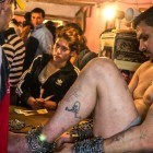 Beneath the streets of Romania's capital, a living hell